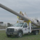 Hercules 5042-46 DD for Power Line - Carrying 35' Utility Pole