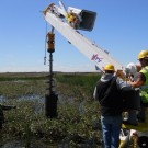Achiever RT-02 DD - Back lifting heavy, wet soil