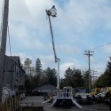 Achiever DMP-52 MH Tracked Aerial with Jib on Ski Hill