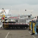 Achiever DPM-52 MH Tracked Aerial with Jib - ICUEE 2013