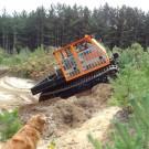 Achiever RT-01 UJ Utility Vehicle Field Slope 1