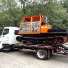 Achiever RT-01 UJ Utility Vehicle on Transport