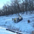 UTV Achiever RT-02 DD - Rubber Tracks can climb 40 degrees in Snow